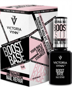 BOOSTBASE 2in1 - hybrid base and nail conditioner 15 ml VICTORIA VYNN