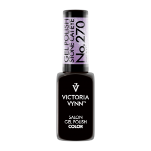 Gel Polish Lakier hybrydowy Stone Cat Eye Amethyst 8 ml (270) VICTORIA VYNN