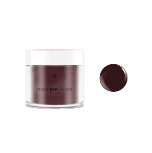 Puder do manicure tytanowego Magic Dip System 35 Burgundy Dot KABOS.