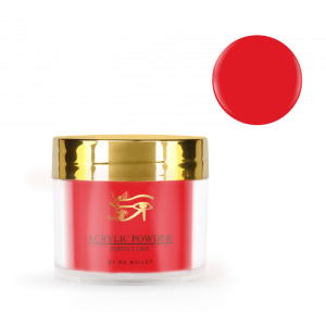 Puder do manicure tytanowego DIP Red 20g RA NAILS